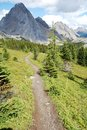 Hiking Trail To Mountains Royalty Free Stock Image - 6534376