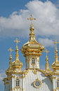 Church Of Grand Palace In Petrodvorets Royalty Free Stock Image - 6538036