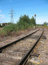A Running Away Railroad Royalty Free Stock Images - 6538089