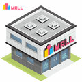 Shopping Mall Building Royalty Free Stock Images - 65313629