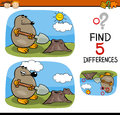 Find Differences Task Stock Images - 65327724