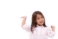 Happy, Smiling Female Asian Caucasian Kid Playing Royalty Free Stock Photo - 65332545