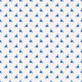 Seamless Pattern With Small Hand Drawn Flowers. Royalty Free Stock Photos - 65346278