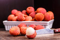 Lychee Fruit, Which Is Called Chinese Plum Stock Images - 65357544