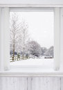 Winter Window Royalty Free Stock Image - 65368126