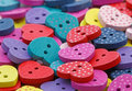 Wooden Heart Shaped Buttons Royalty Free Stock Photos - 65369518
