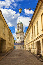 The Old Streets Of Vyborg, Russia Stock Image - 65381331