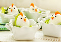 Hard Boiled Chicken Egg Family Royalty Free Stock Photos - 65391628
