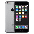 Space Gray Apple IPhone 6s Front View With IOS 9 On The Screen Stock Image - 65405301
