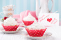 Cupcakes For Valentine S Day. Royalty Free Stock Image - 65434826