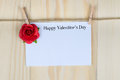 Valentine S Day Card Royalty Free Stock Photos - 65463238