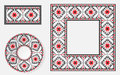 Set Of Ethnic Ornament Pattern Brushes Royalty Free Stock Images - 65470389