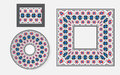 Set Of Ethnic Ornament Pattern Brushes Royalty Free Stock Images - 65471179