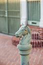 Horses Head Design In Bourbon Street In The French Quarter Royalty Free Stock Photos - 65479488