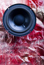 Speakers System On Notes Stock Photo - 6550900