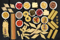 Healthy Pasta Selection Royalty Free Stock Photography - 65548147