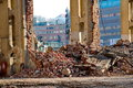 Demolition Of A Building Royalty Free Stock Images - 65550109