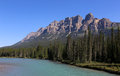 Castle Mountain Royalty Free Stock Image - 65562906