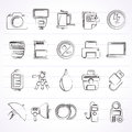 Camera Equipment And Photography Icons Royalty Free Stock Photos - 65574298