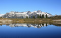 Mountain Reflection. Royalty Free Stock Image - 65578346