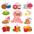 Food In Love Royalty Free Stock Photos - 65579238