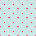 Cute Retro Abstract Heart Seamless Pattern. Can Be Used For Wallpaper, Cover Fills, Web Page Background, Surface Textures. Pink, B Royalty Free Stock Photo - 65586275