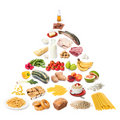 Food Pyramid Stock Images - 6562504