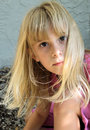 Cute Blond Girl Royalty Free Stock Photo - 6567145