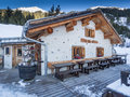 Cottage Garfiun In Klosters Royalty Free Stock Images - 65615799