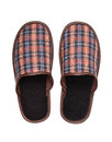 Plaid Slippers Royalty Free Stock Photo - 65625975