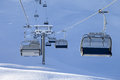 Ski-lift At Early Morning Stock Image - 65626341