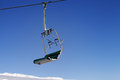 Chair-lift And Blue Sky Royalty Free Stock Images - 65626439
