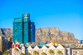 Downtown Cape Town With Table Mountain Stock Photos - 65626863