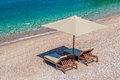Luxury Beach Furniture Set Royalty Free Stock Images - 65663919