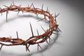 View Of Branches Of Thorns Woven Into A Crown Royalty Free Stock Image - 65664056