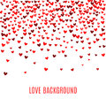 Romantic Red Heart Background. Vector Illustration Stock Photo - 65667950