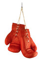 Red Boxing Gloves Stock Photography - 65668292