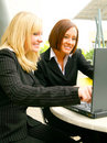 Business Women In Action Stock Photo - 6571510