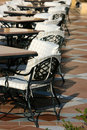Tables In The Cafe. Stock Photo - 6574540