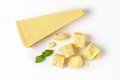 Pieces Of Parmesan Cheese Stock Photography - 65703082