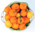 Citrus Fruit In The Basket Royalty Free Stock Image - 65718276