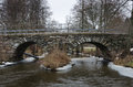 Old Stonebridge Over The Cold Water Stock Image - 65734241