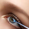 Laser Vision Correction. Woman S Eye. Human Eye. Woman Eye With Stock Photos - 65736553