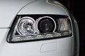 Car Headlights Stock Image - 65738601