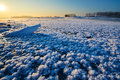The Ice Flowers In The River Royalty Free Stock Photography - 65744637