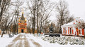 Chapel-tomb Of Paskevich And Vetka Museum Of Old Believers And Belarusian Traditions In Gomel, Belarus Royalty Free Stock Photos - 65761878
