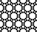 Vector Modern Seamless Sacred Geometry Pattern Circles, Black And White Abstract Royalty Free Stock Images - 65763139