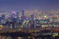 Seoul City And Downtown Skyline In Misty Day Royalty Free Stock Photo - 65772785