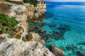 Rocky Cove On The Coast Of Puglia Royalty Free Stock Images - 65786739