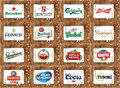 Top Famous Beer Brands And Logos Stock Image - 65792681